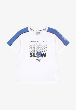 SEGA ADVANCED TEE - Triko s potiskem - white