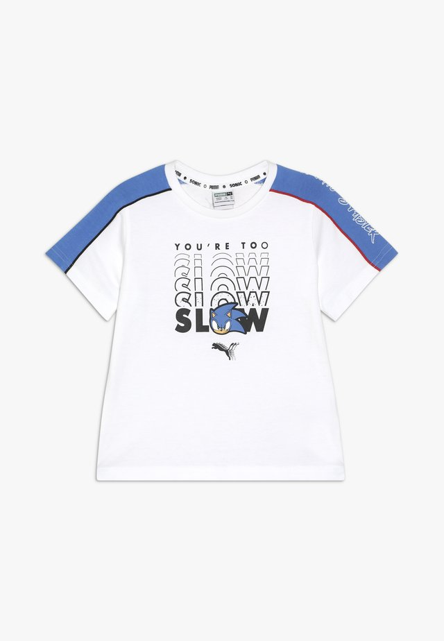 SEGA ADVANCED TEE - T-shirts med print - white