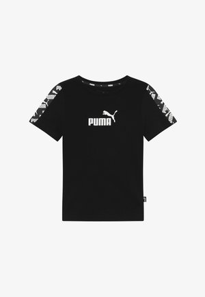 AMPLIFIED - T-shirts med print - puma black