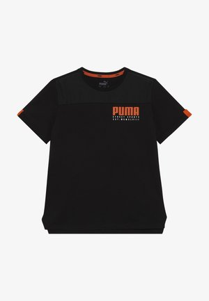 ALPHA ADVANCED TEE - T-shirt imprimé - puma black