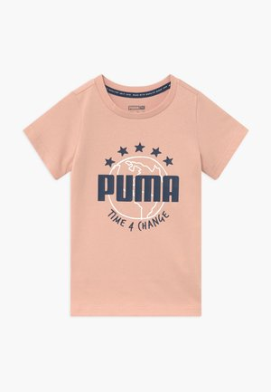 TIME FOR CHANGE TEE - T-shirt con stampa - pink sand