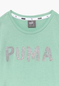 Puma - ALPHA TEE G - Triko spotiskem - mist green - 3