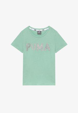 ALPHA TEE G - T-shirts print - mist green