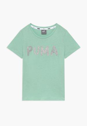 ALPHA TEE G - Camiseta estampada - mist green