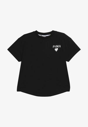 ALPHA TREND TEE - Print T-shirt - black