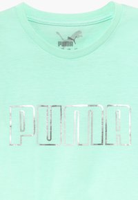 Puma - METALLIC SPLASH GIRLS TEE - Print T-shirt - mint - 3