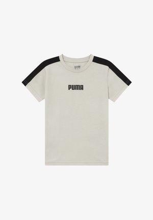 PUMA X ZALANDO LOGO TEE - T-shirt z nadrukiem - silver birch