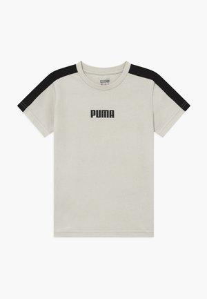 PUMA X ZALANDO LOGO TEE - Camiseta estampada - silver birch