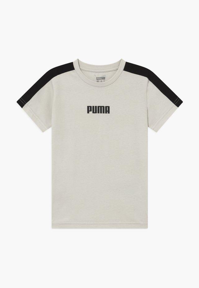 PUMA X ZALANDO LOGO TEE - T-shirt print - silver birch