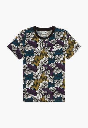 PUMA X ZALANDO TEE - Camiseta estampada - multicolor