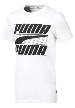 T-shirt print - puma white