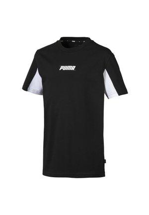 REBEL - T-shirt imprimé - cotton black
