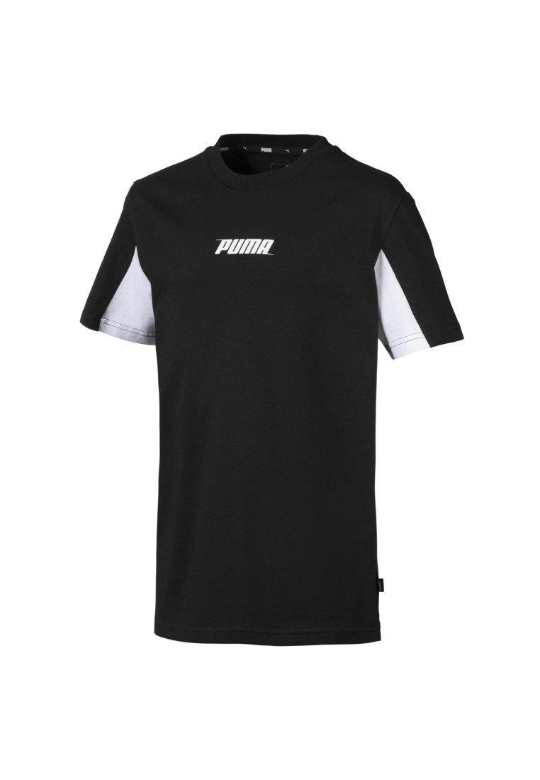 Puma - REBEL - T-Shirt print - cotton black