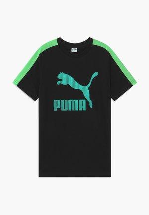 PUMA X ZALANDO TEE - Camiseta estampada - black