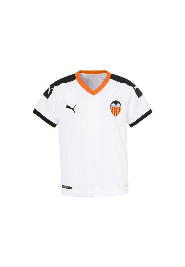 Club wear - white- black-vibrant orange