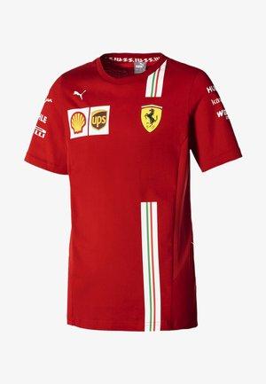 Print T-shirt - rosso corsa