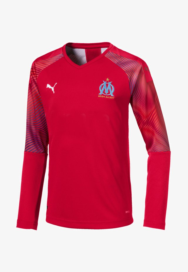 OLYMPIQUE DE MARSEILLE LONG SLEEVE GOALKEEPER  - Print T-shirt - red