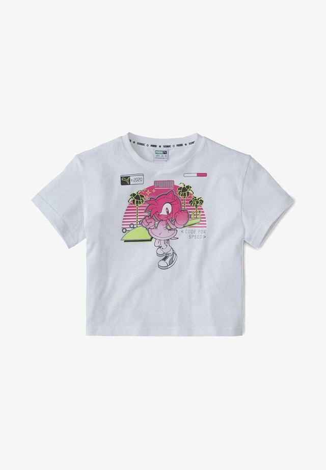 X SEGA KIDS' MEISJE - Print T-shirt - white