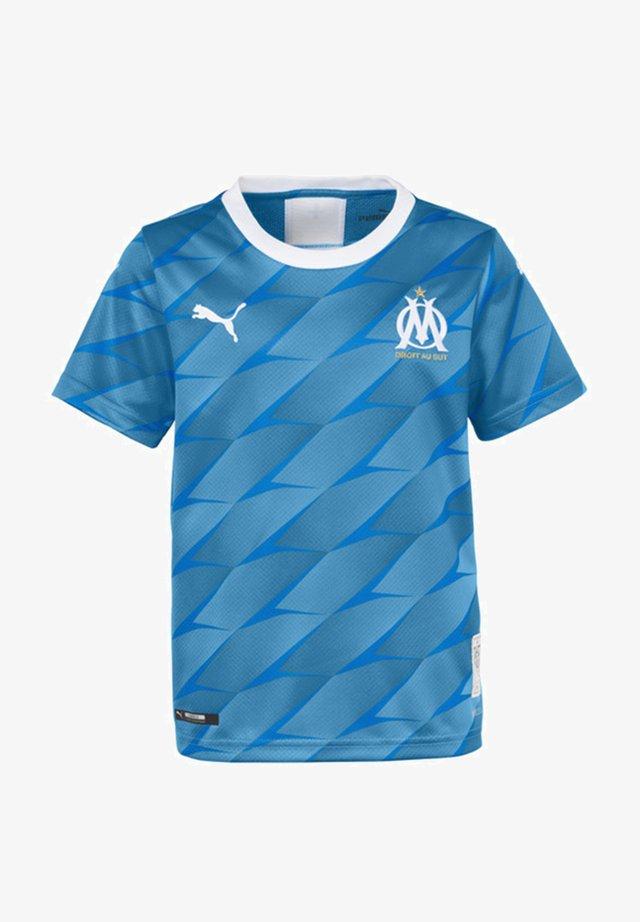 OLYMPIQUE DE MARSEILLE - Sports shirt - bleu azur