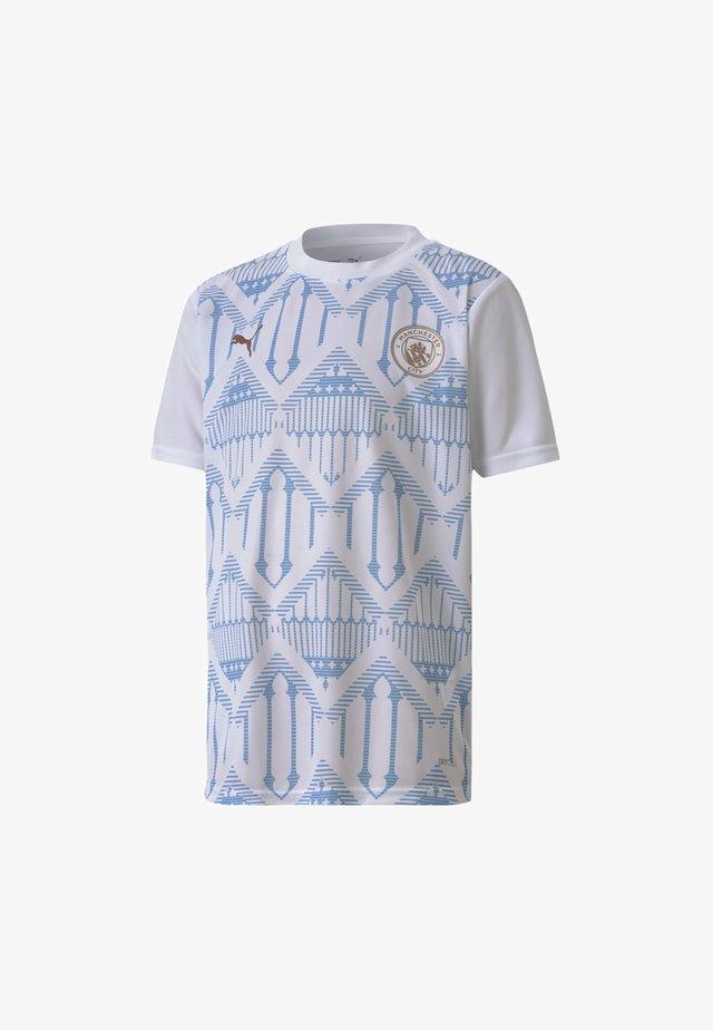 YOUTH  - Club wear -  white-team light blue