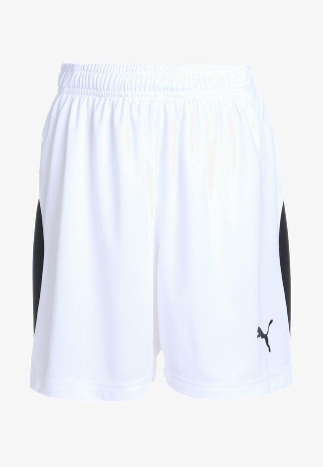 LIGA - kurze Sporthose - white/black