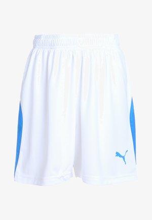 LIGA - Pantalón corto de deporte - white/electric blue