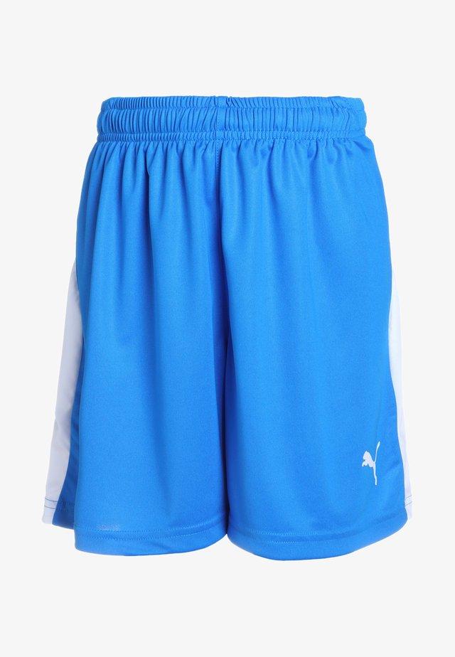 LIGA - Korte sportsbukser - electric blue lemonade/white