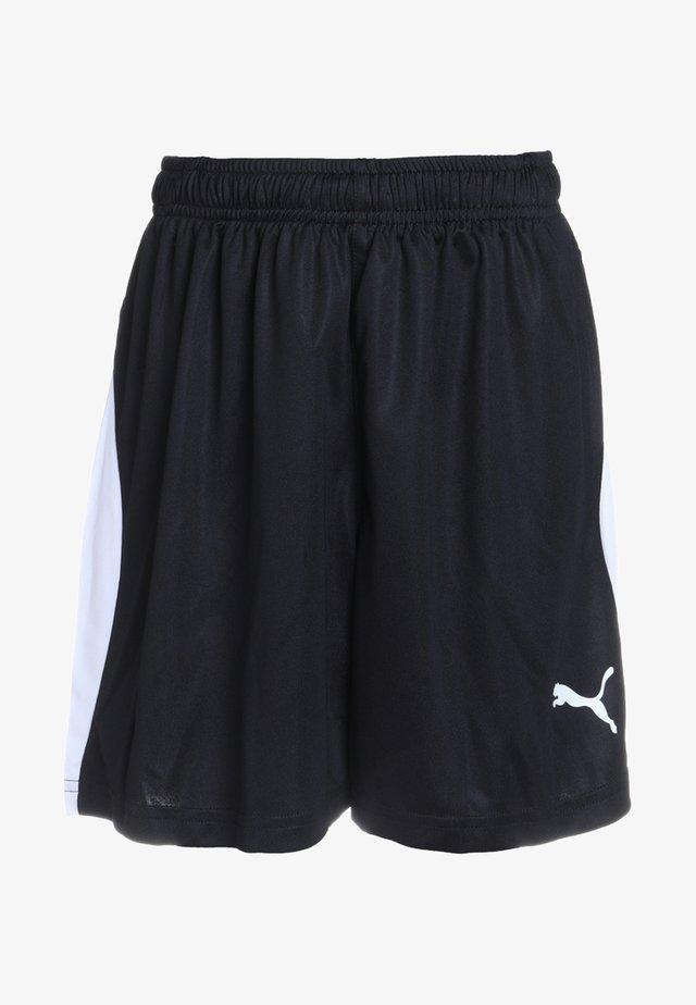 LIGA - Korte sportsbukser - black/white