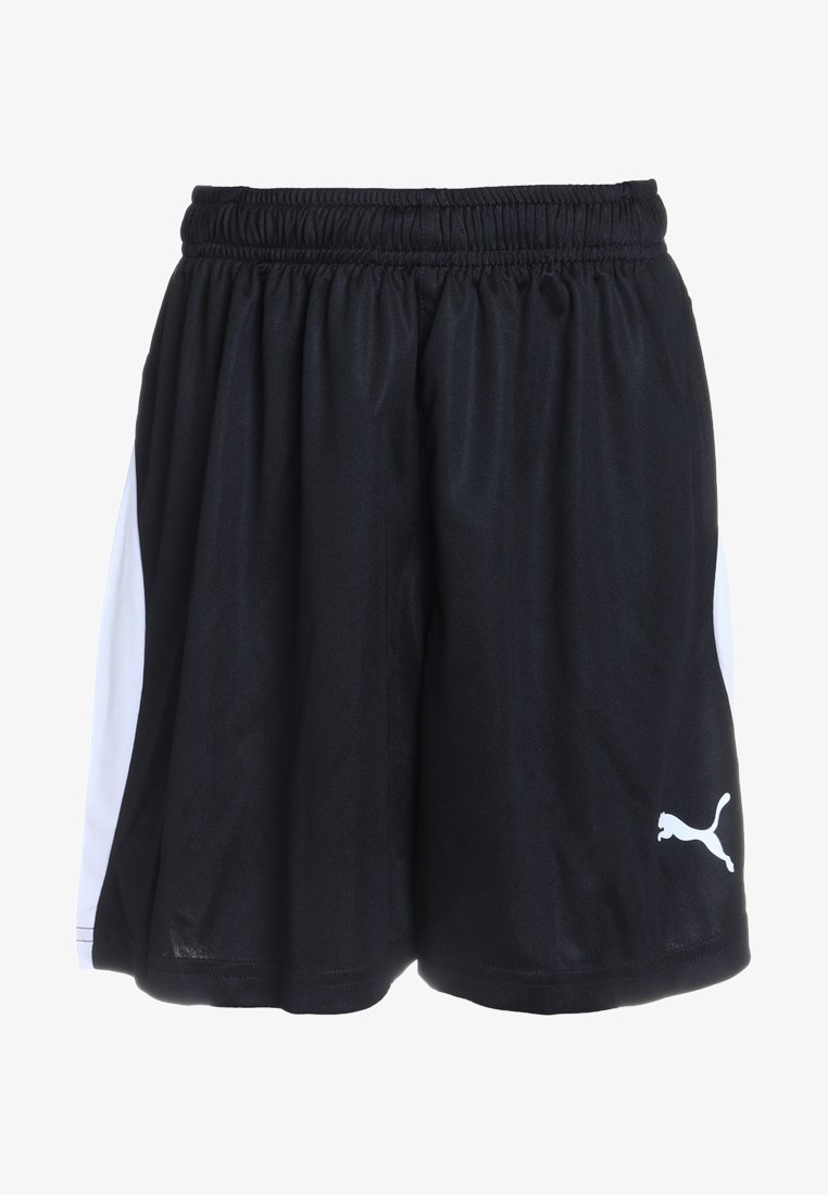 Puma - LIGA - Sports shorts - black/white