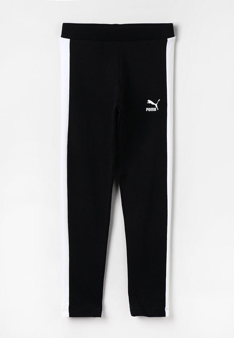 Puma - CLASSICS LEGGINGS - Leggings - cotton black