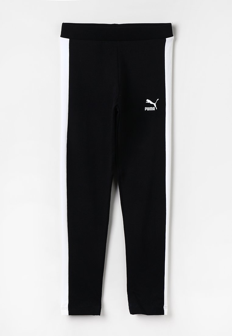 Puma - CLASSICS LEGGINGS - Tights - cotton black