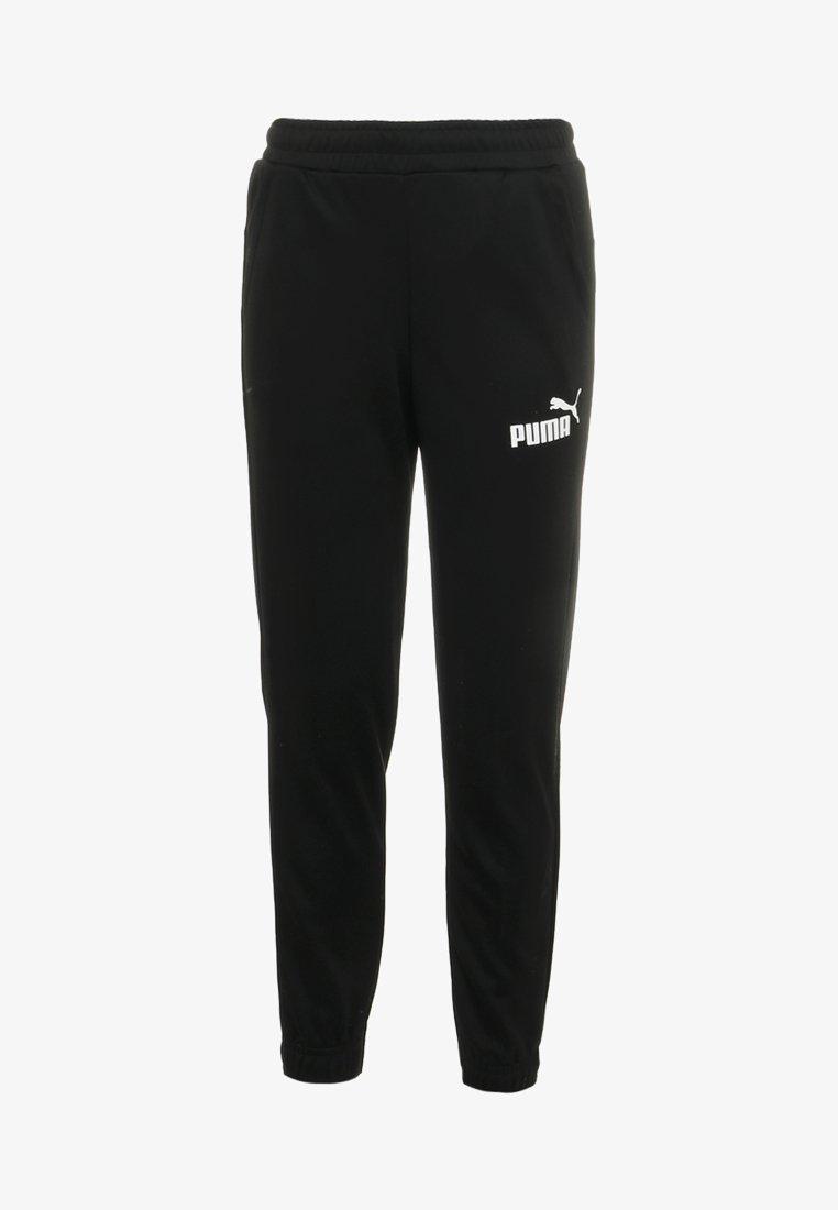 Puma - LOGO PANTS - Pantalon de survêtement - black