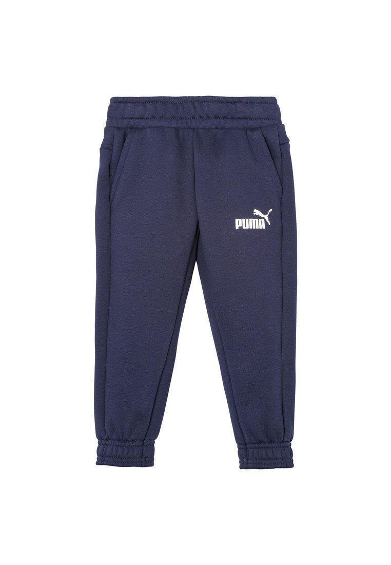 Puma - ESS LOGO SWEAT PANTS FL CL B - Tracksuit bottoms - peacoat
