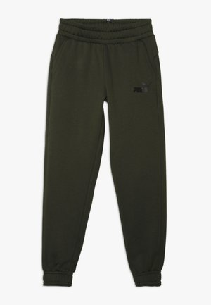 ESS LOGO SWEAT PANTS FL CL B - Tracksuit bottoms - forest night