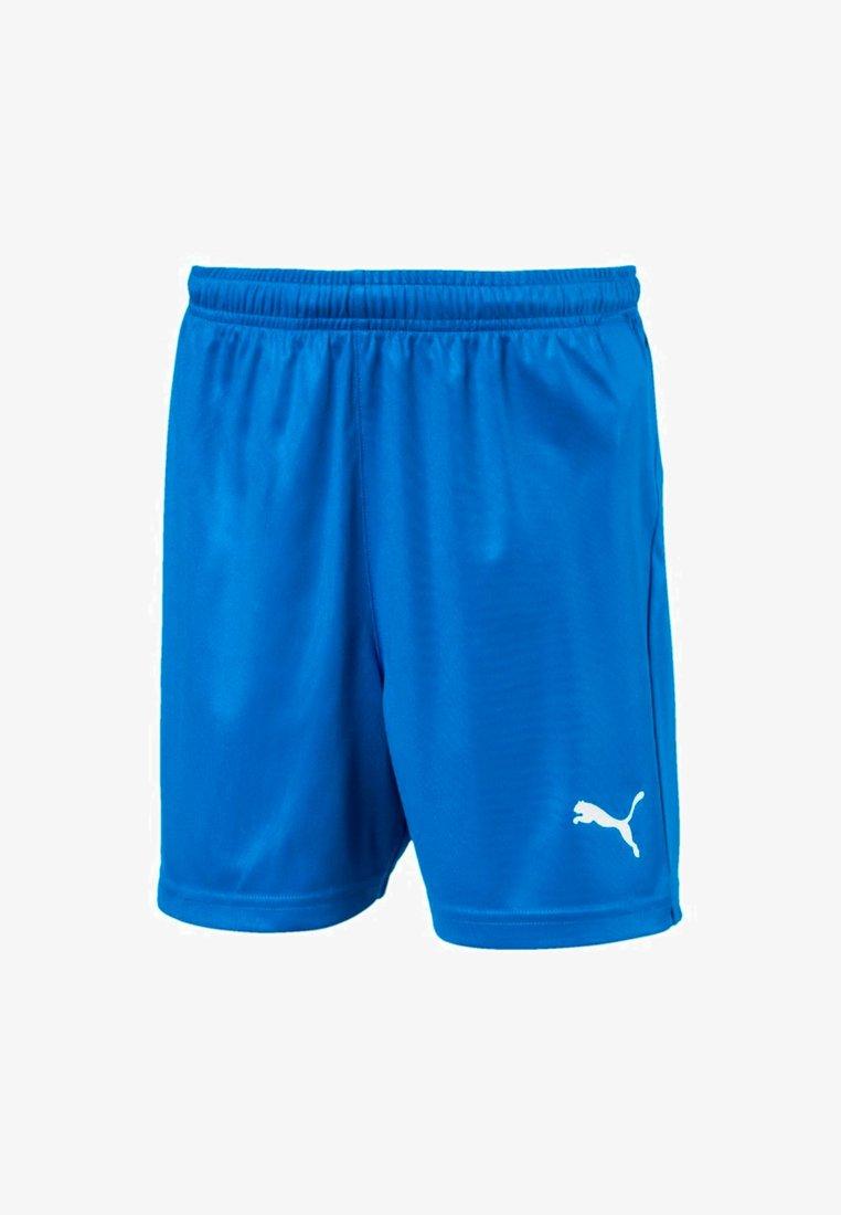 Puma - LIGA CORE SHORTS UNISEX - Teamwear - electric blue lemonade-white
