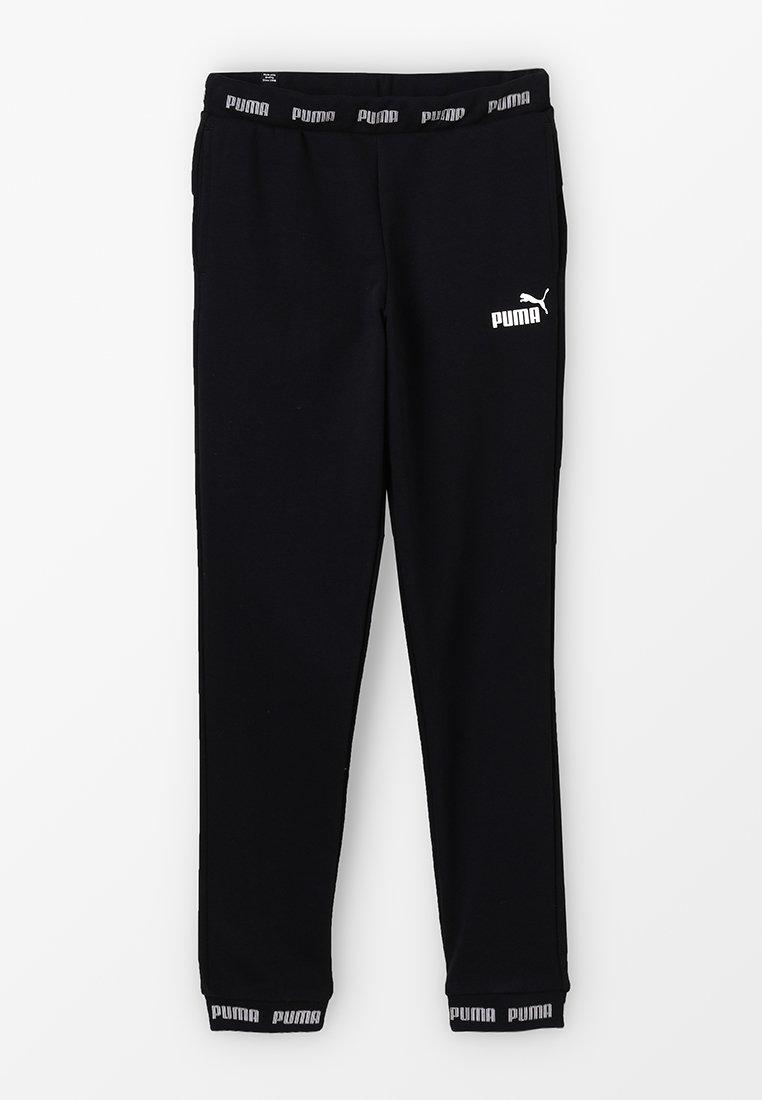 Puma - AMPLIFIED SWEAT PANTS - Jogginghose - black