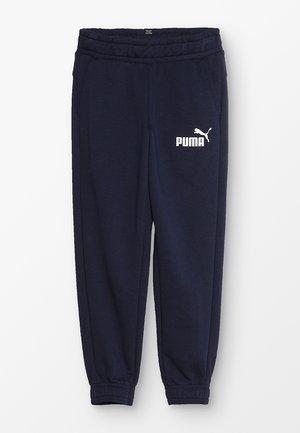 LOGO PANTS - Pantalones deportivos - peacoat