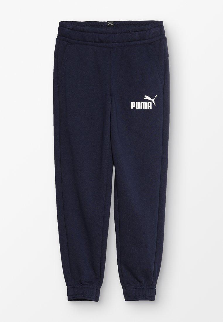 Puma - LOGO PANTS - Pantalones deportivos - peacoat