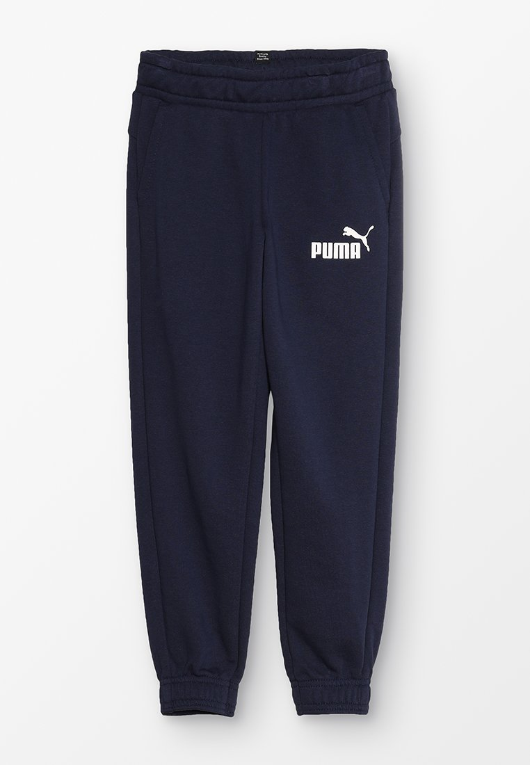 Puma - LOGO PANTS - Pantalon de survêtement - peacoat