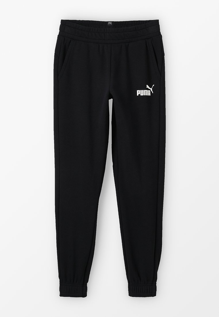 Puma - LOGO PANTS - Jogginghose - black