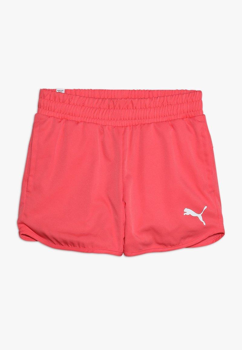Puma - ACTIVE SHORTS - Pantalón corto de deporte - calypso coral