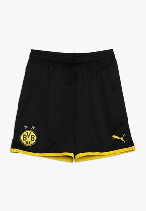 BVB BORUSSIA DORTMUND SHORTS REPLICA - Korte broeken - black/cyber yellow