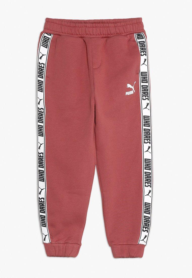 Puma - PUMA X ZALANDO PANTS - Pantalon de survêtement - marsala