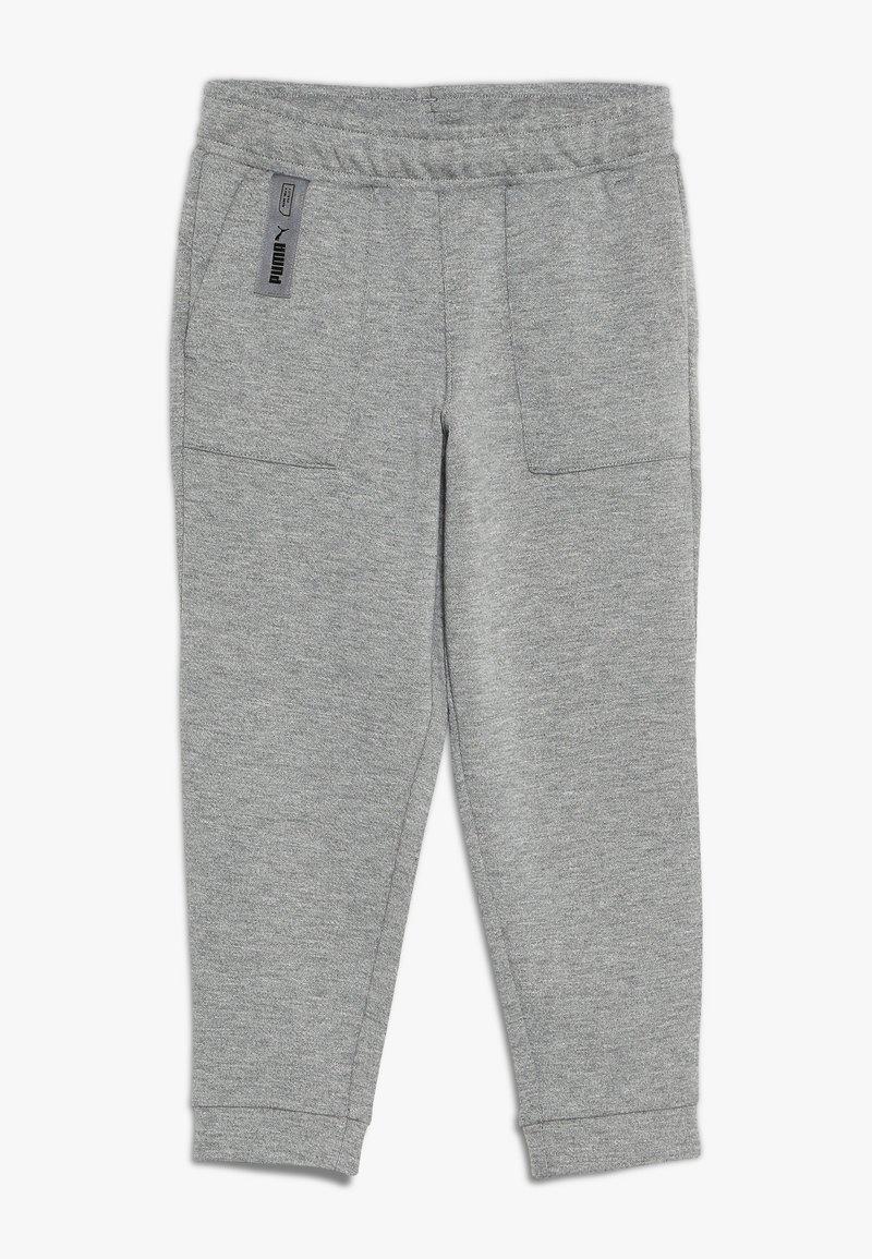Puma - NUTILITY PANTS - Pantalon de survêtement - medium gray heather