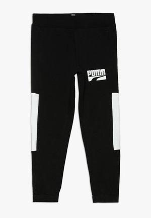 REBEL BLOCK PANTS - Trainingsbroek - puma black
