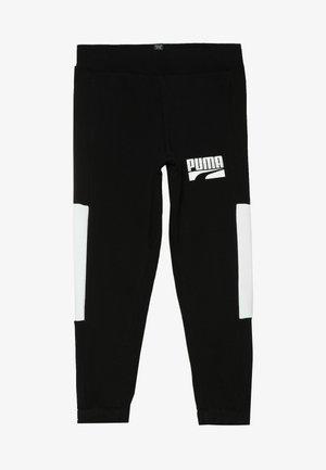 REBEL BLOCK PANTS - Pantalones deportivos - puma black
