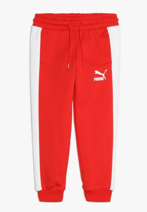 ICONIC TRACK PANTS - Spodnie treningowe - high risk red