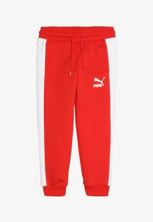 ICONIC TRACK PANTS - Pantalones deportivos - high risk red