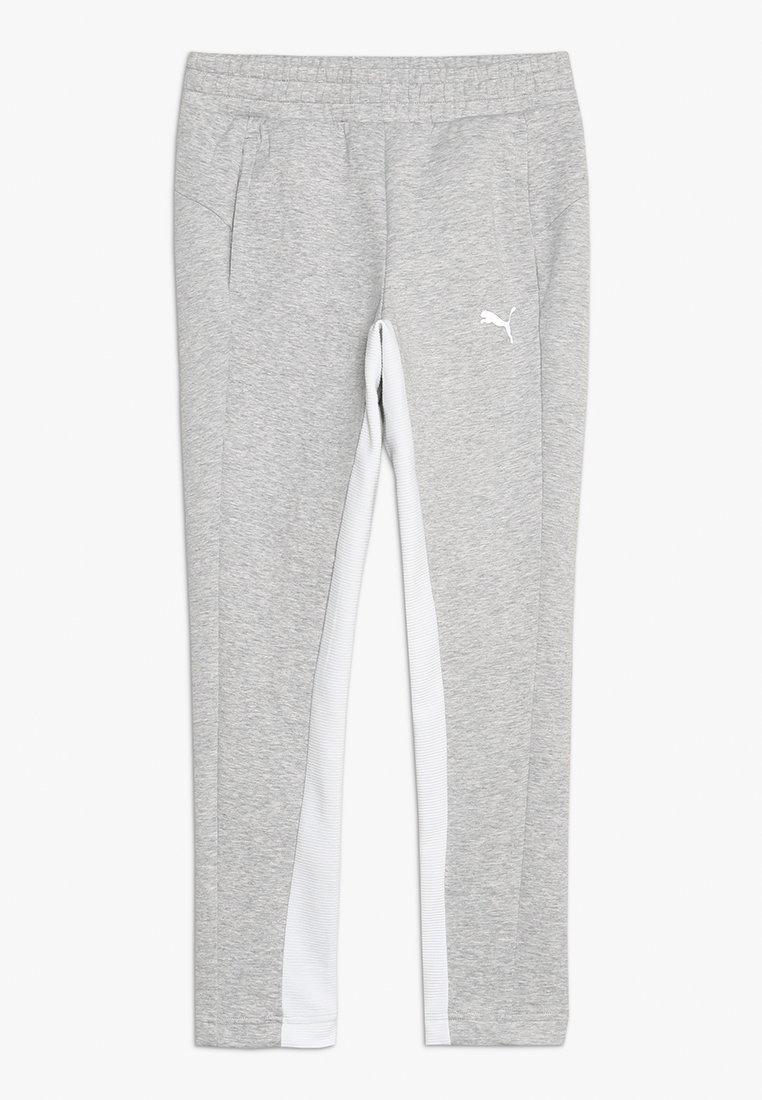 Puma - EVOSTRIPE PANTS  - Teplákové kalhoty - light gray heather
