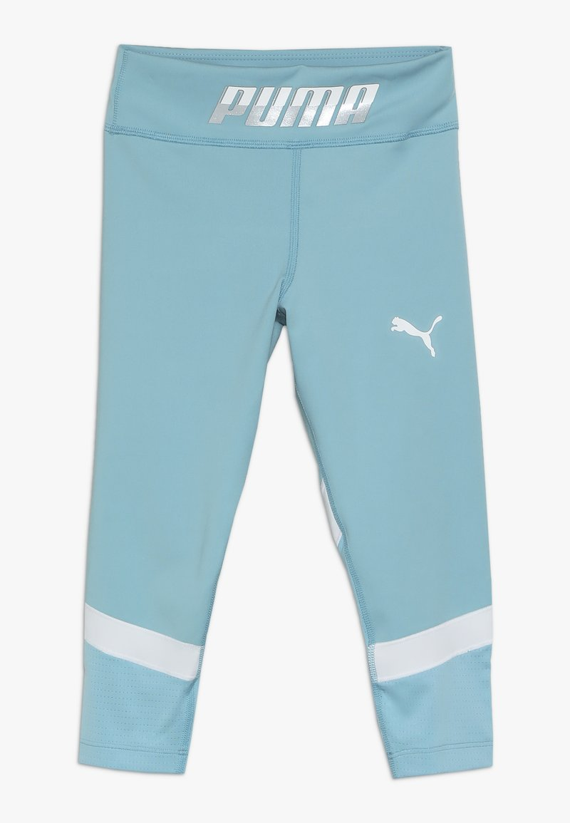 Puma - ACTIVE SPORTS LEGGINGS - Legginsy - milky blue